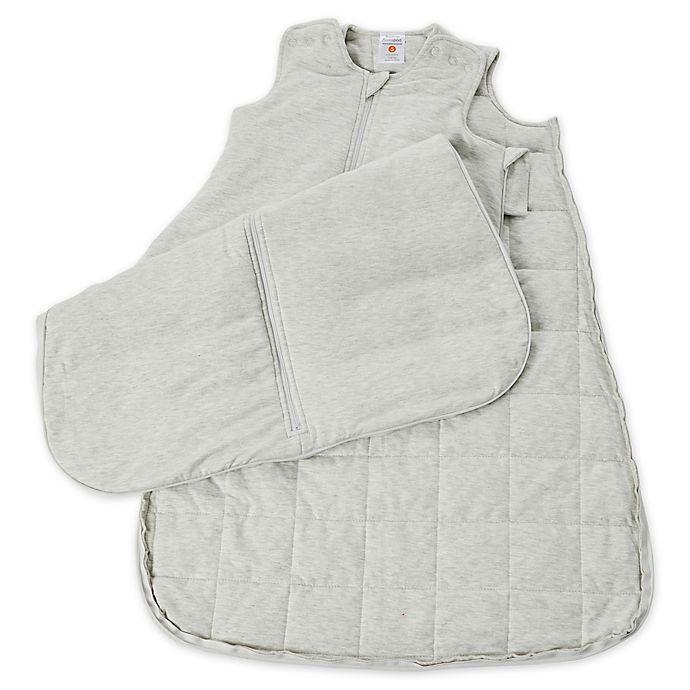 Alternate image 1 for Gunamuna Gunapod Luxury Wearable Blanket in Grey