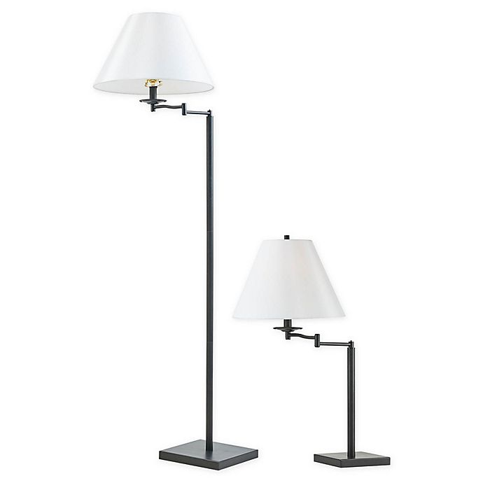 Alternate image 1 for Martha Stewart Rye Table and Floor Lamp Collection