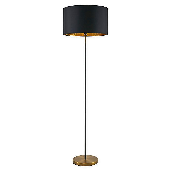 Alternate image 1 for Martha Stewart Hunts Floor Lamp in Gold/Black