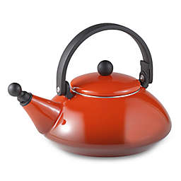 Le Creuset 1.6-Quart Zen Tea Kettle in Red