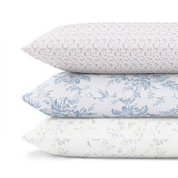 Laura Ashley® Cotton Sateen 300-Thread-Count Sheet Set Collection