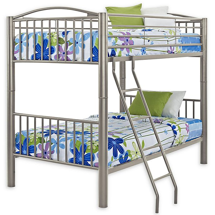 Alternate image 1 for Powell Carlyle Bunk Bed in Pewter