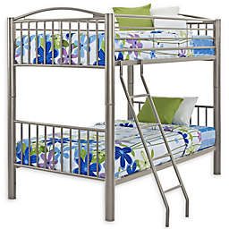 Powell Carlyle Bunk Bed in Pewter