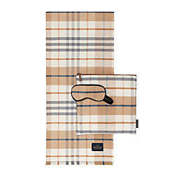 Pendleton® Goldendale Plaid 3-Piece Travel Set in Camel