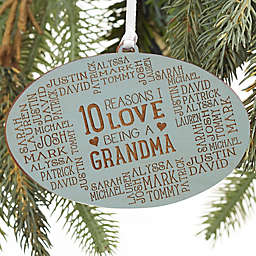 Reasons Why For Her Personalized Wood Ornament Collection