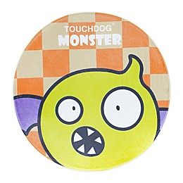 Touchdog Flying Critter Monster Polyester Cat and Dog Mat in Yellow