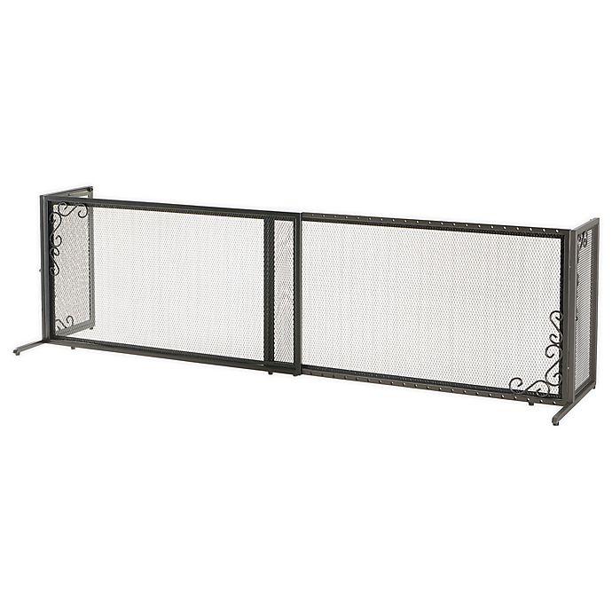 Alternate image 1 for Richell® Large Metal Mesh Pet Gate