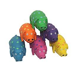 Multipet™ Goblets Pig Latex Dog Toy