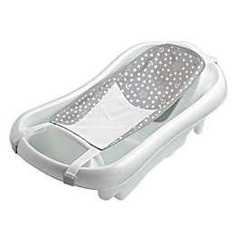 The First Years Sure Comfort® Newborn-to-Toddler Tub With Infant Sling in White