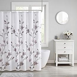 Madison Park Magnolia Shower Curtain