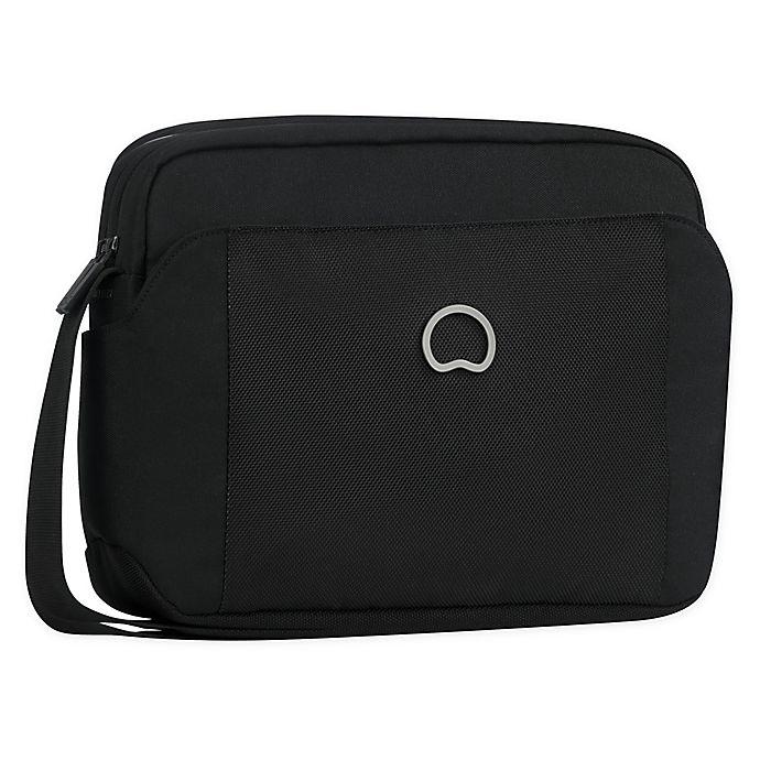 Alternate image 1 for Delsey Paris Picpus 2-Compartment Horizontal Crossbody Bag