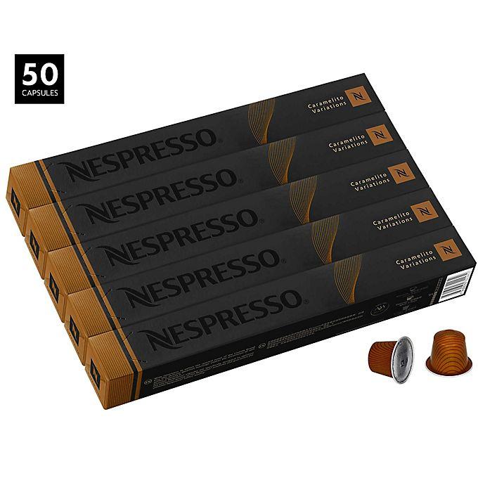 Alternate image 1 for Nespresso® OriginalLine 50-Count Caramelito Espresso Capsules