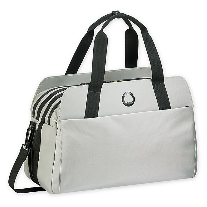 Delsey Paris Dailys Carry Duffle With 14 Inch Laptop Sleeve In Grey Bed Bath Beyond