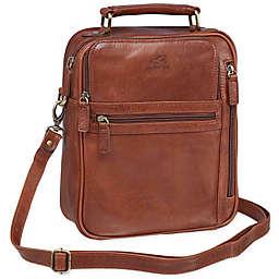 Mancini Arizona Single Section Large Unisex Leather Bag