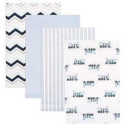 Luvable Friends® 4-Pack Flannel Receiving Blankets