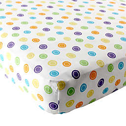 Luvable Friends® Fitted Pack 'n Play Sheet in Yellow