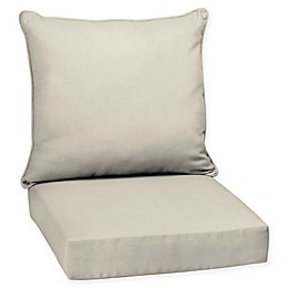 Arden Selections™ Solid Outdoor Deep Seat Chair Cushions
