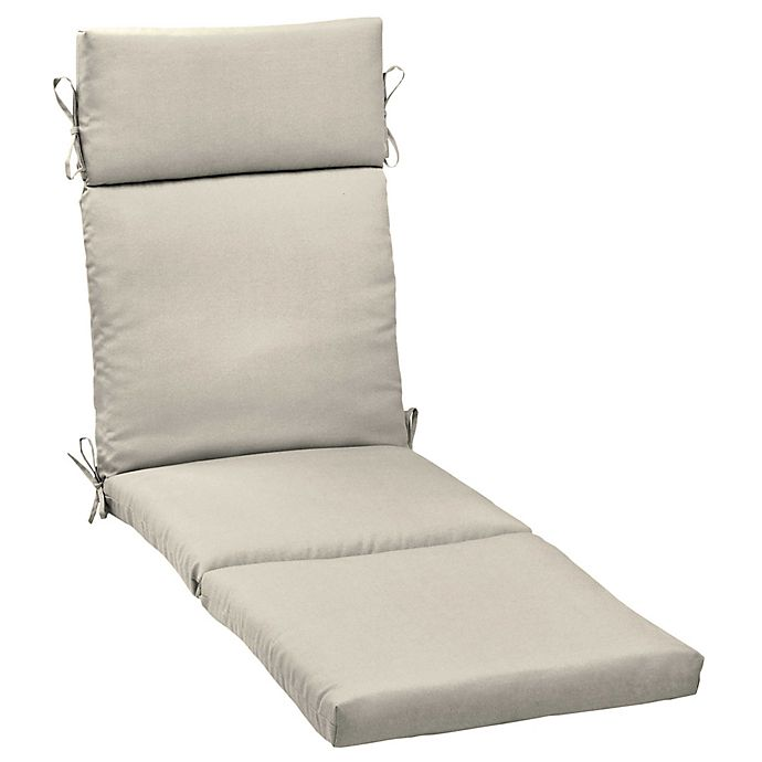 Alternate image 1 for Arden Selections™ Solid Outdoor Chaise Lounge Cushion
