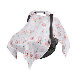 aden + anais™ essentials Car Seat Canopy in Pink Floral
