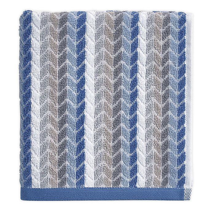 Alternate image 1 for Chevron Tile Hand Towel