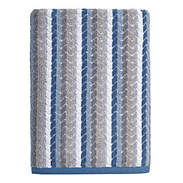 Chevron Tile Bath Towel