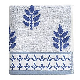 Block Print Fingertip Towel