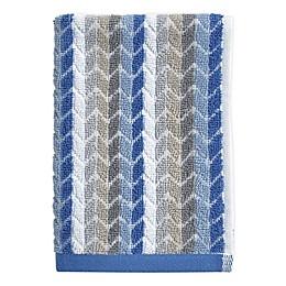 Chevron Tile Fingertip Towel