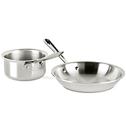 All-Clad D3 Stainless Steel 2-Piece Cookware Set