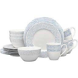 Noritake® Blue Hammock 16-Piece Rim Dinnerware Set