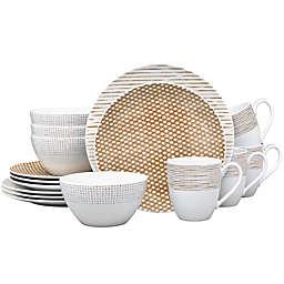 Noritake® Khaki Hammock 16-Piece Coupe Dinnerware Set