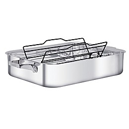 Zwilling® J.A. Henckels TruClad 16-Inch Stainless Steel Roaster with Rack