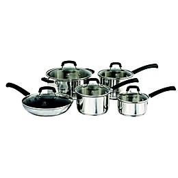 J.A. Henckels International Kitchen Elements 10-Piece Cookware Set