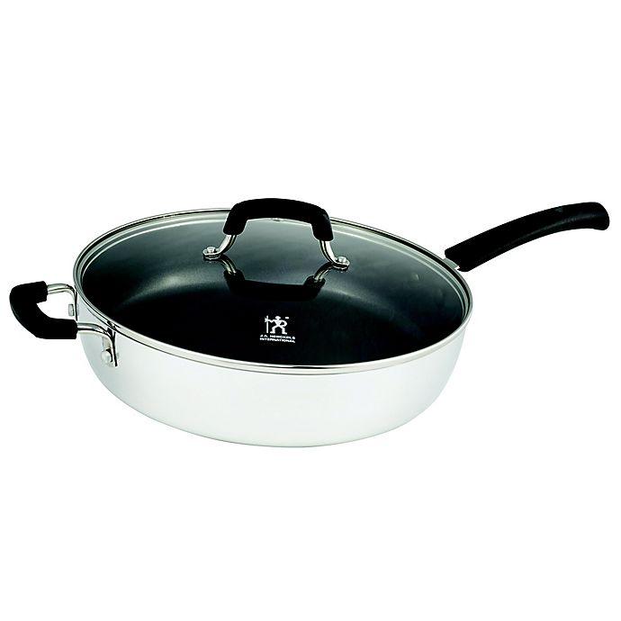 Alternate image 1 for J.A. Henckels International Kitchen Elements 5 qt. Covered Saute Pan