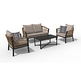 Destination Summer 4-Piece Patio Conversation Set