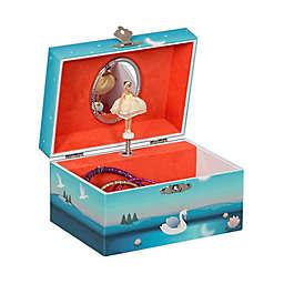 Mele & Co. Mya Musical Ballerina Jewelry Box in Blue