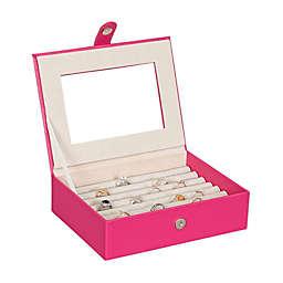 Mele & Co. Cole Fashion Jewelry Box in Magenta