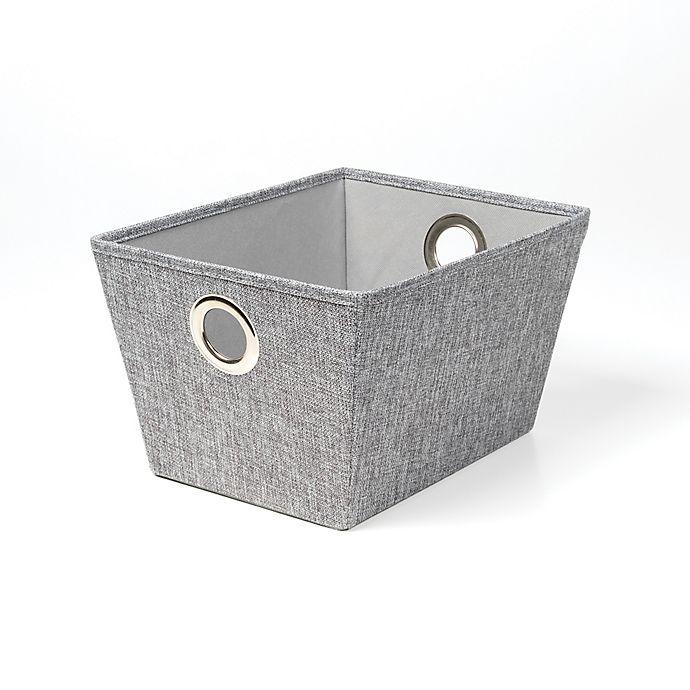 Alternate image 1 for SALT™ Tweed Grommet Storage Bin