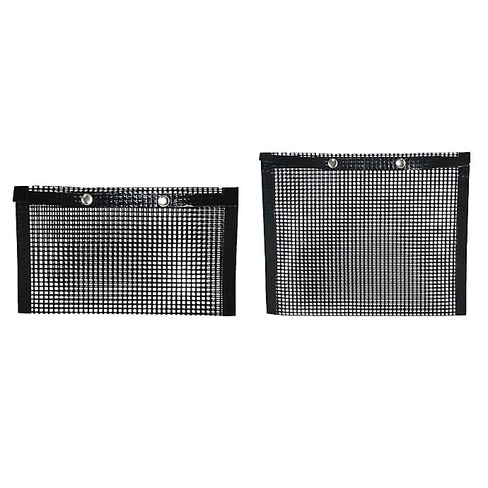 Alternate image 1 for Charcoal Companion® Non-Stick Mesh Grill Bags (Set of 2)