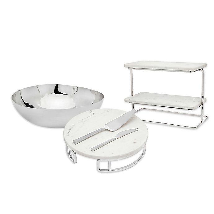 Alternate image 1 for Olivia & Oliver™ Marble Serveware Collection