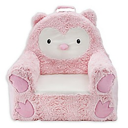 Soft Landing™ Premium Sweet Seats™ Owl Chair in Pink