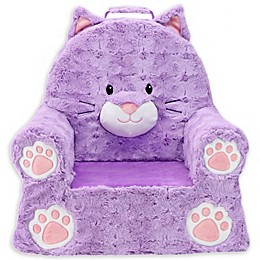 Soft Landing™ Premium Sweet Seats™ Cat Chair in Purple