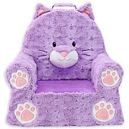 Soft Landing™ Premium Sweet Seats™ Cat Chair in Purple