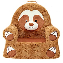 Soft Landing™ Premium Sweet Seats™ Sloth Chair in Brown