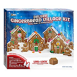 Bee International Deluxe Gingerbread Village Kit