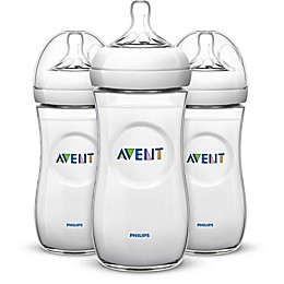 Philips Avent Natural 3-Pack 11 oz. Bottles