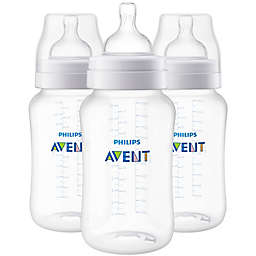 Philips Avent 3-Pack 11 fl. oz. Anti-Colic Wide-Neck Bottles