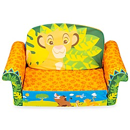 Marshmallow Lion King Simba 2-in-1 Flip Open Sofa