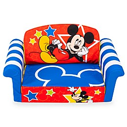 Marshmallow Mickey Mouse 2-in-1 Flip Open Sofa