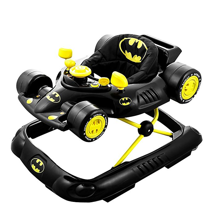 Alternate image 1 for KidsEmbrace® DC Comics Baby Batman Walker in Black