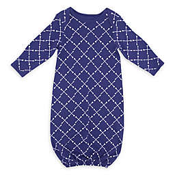 Sterling Baby Arrow Gown in Navy